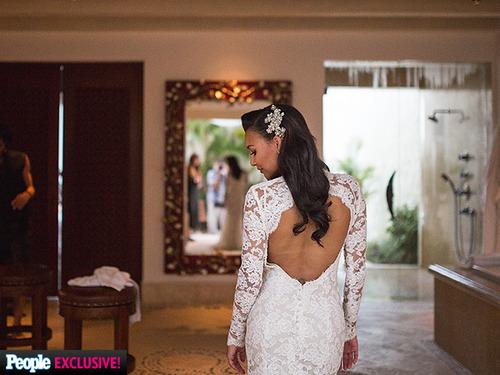 naya rivera amp ryan dorsey wedding details pics of her