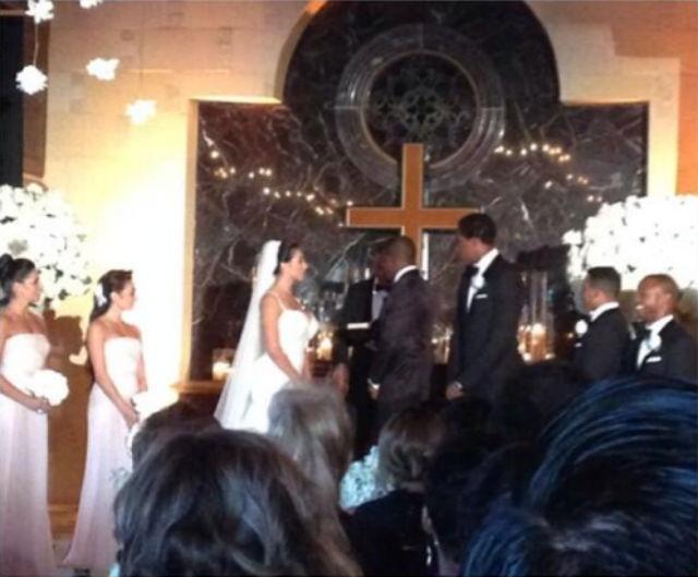 Reggie Bush S Lilit Avagyan Wedding Photos 3 Dipped In Lace
