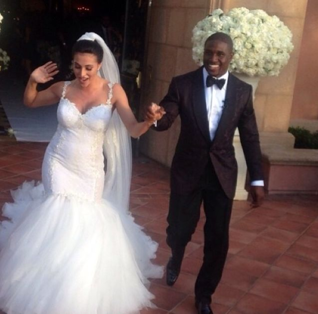 Reggie Bush's & Lilit Avagyan Wedding Photos