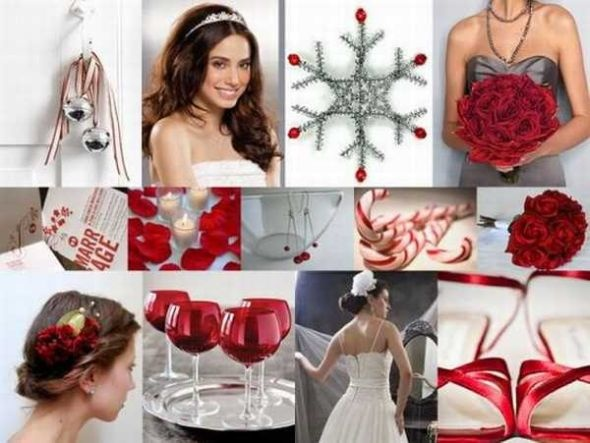 Christmas Wedding Theme Ideas 18
