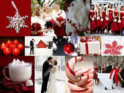 Christmas Wedding Theme Ideas 9