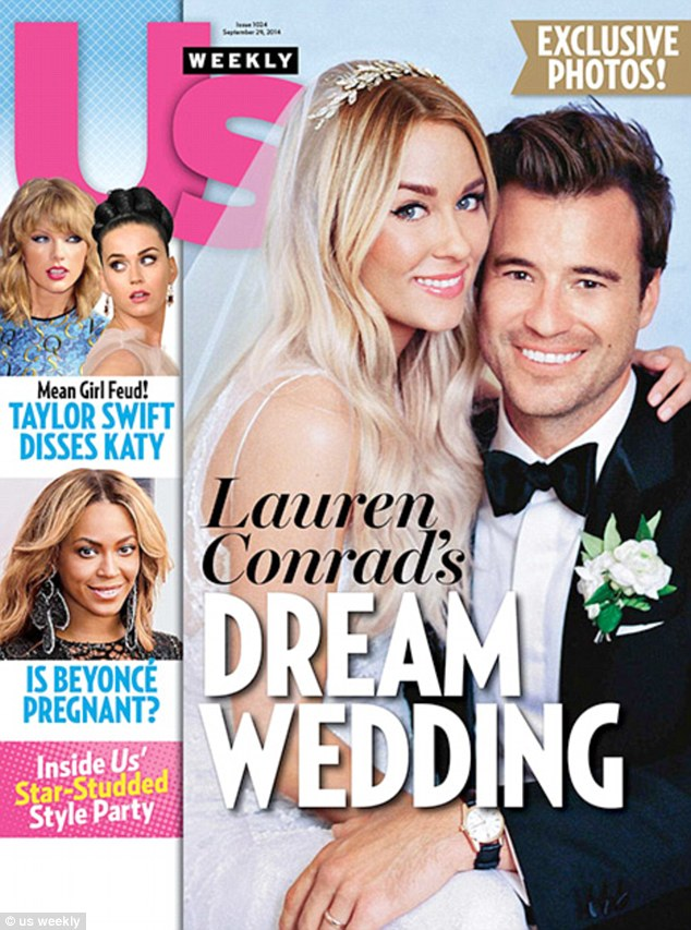 First Look - Lauren Conrad's Wedding Gown Details