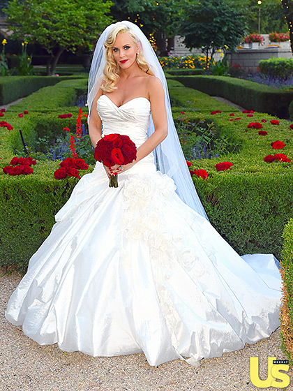Jenny McCarthy Looks Like One Happy Bride, See Her Dress, Her Wedding Hairstyle & More 8