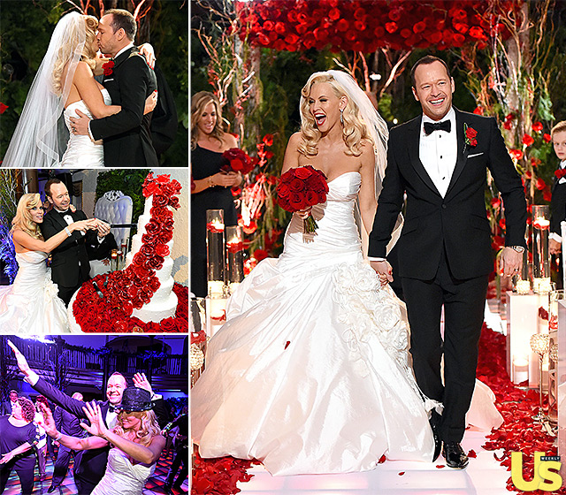 Jenny McCarthy Looks Like One Happy Bride, See Her Dress, Her Wedding Hairstyle & More