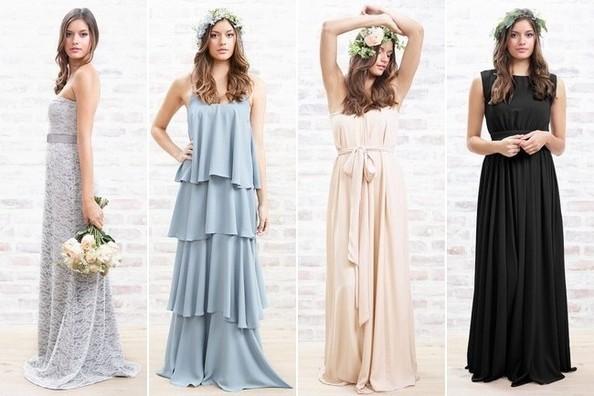 Lauren Conrad Brings Bridesmaid Dresses To Paper Crown Line