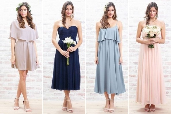 Lauren Conrad Brings Bridesmaid Dresses to Paper Crown Line