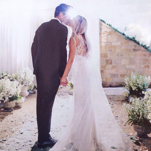 Lauren Conrad's Badgley Mischka Wedding Gown
