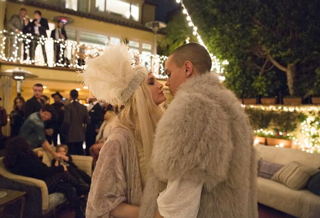 Pics From Ashlee Simpson's Bohemian Wedding to Evan Ross ...