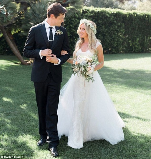 Surprise...Ashley Tisdale Is Married ! See Her Stunning Wedding Gown