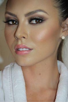 2015 Wedding Makeup Ideas From Pinterest 7