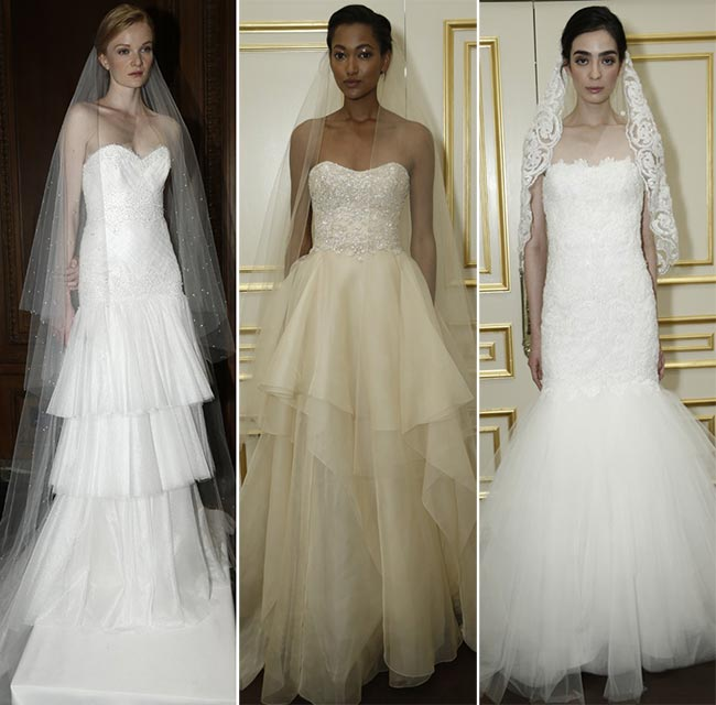 Marchesa Bridal Fall 2015 - Winter 2016 Wedding Dress Collection 3