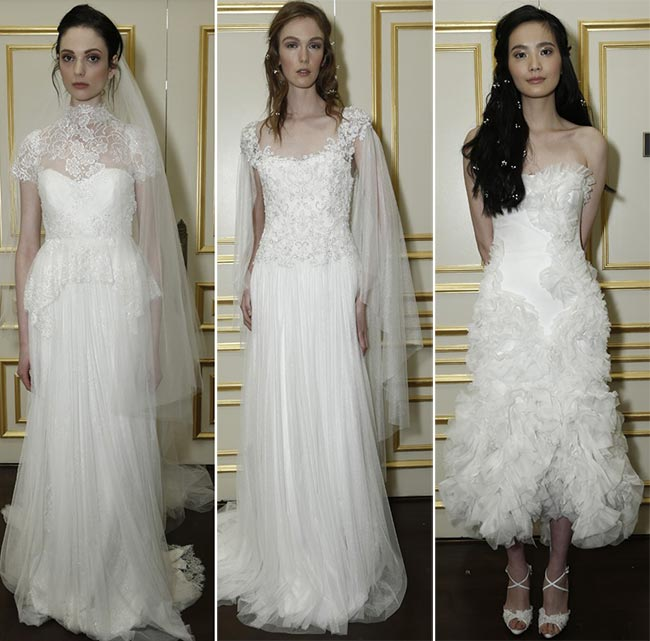Marchesa Bridal Fall 2015 - Winter 2016 Wedding Dress Collection 4