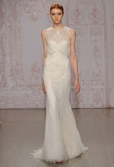 Monique Lhuillier Fall - Winter 2015-2016 Wedding Dress Collection 2