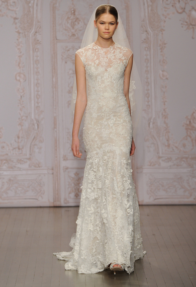 Monique Lhuillier Fall - Winter 2015-2016 Wedding Dress Collection 4