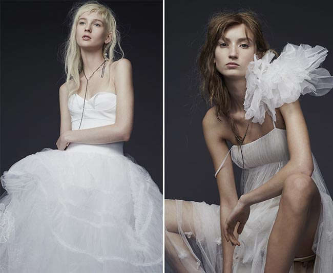 Vera Wang Fall - Winter 2015-2016 Wedding Dress Collection 2