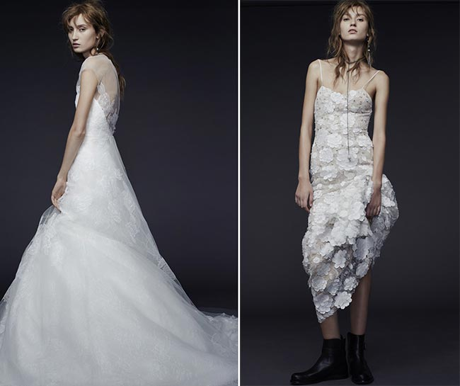 Vera Wang Fall - Winter 2015-2016 Wedding Dress Collection 3