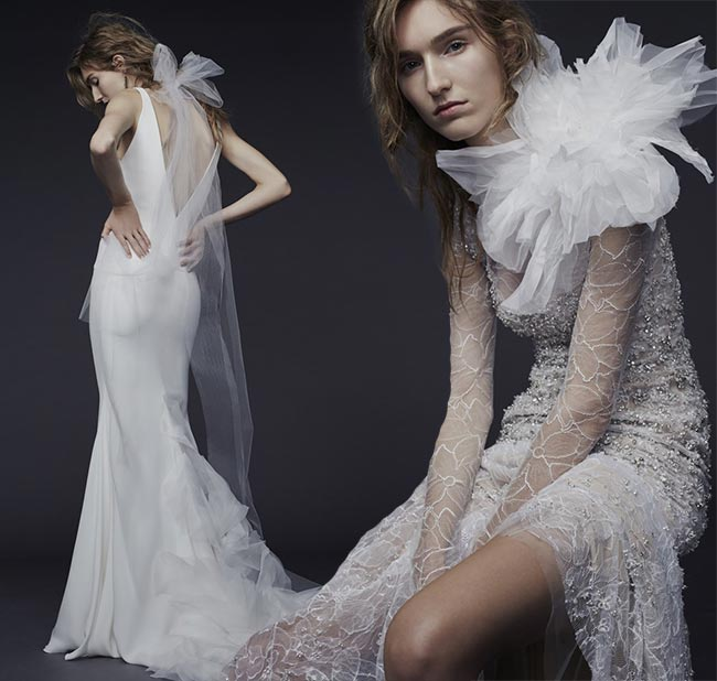 Vera Wang Fall - Winter 2015-2016 Wedding Dress Collection