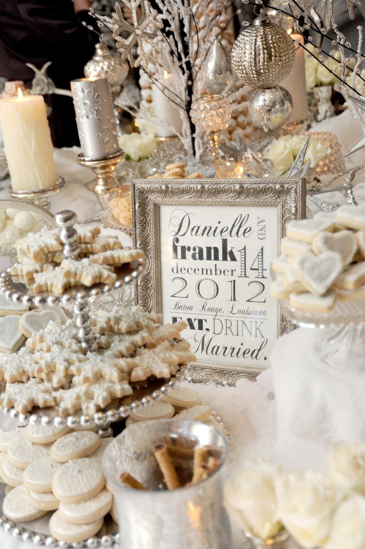 Winter Wedding Theme Ideas 18