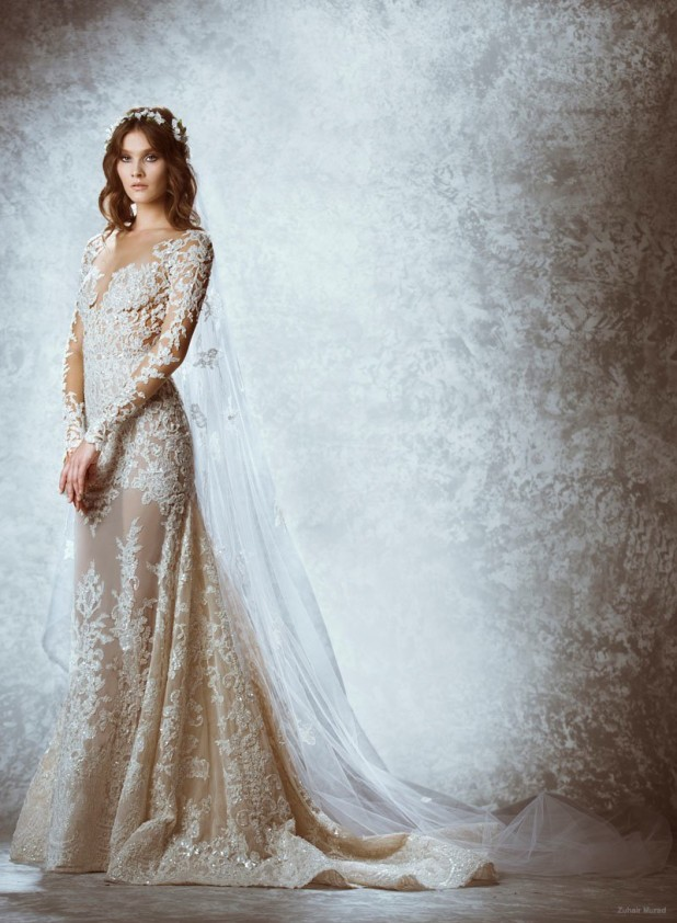 Zuhair Murad Fall 2015 / Winter 2016 Bridal Dresses – Dipped In Lace
