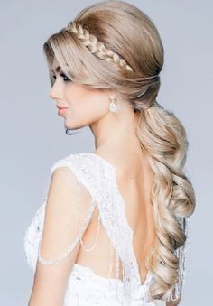 Cool 2015 Spring Summer Wedding Hairstyles Dipped In Lace Hairstyles For Women Draintrainus