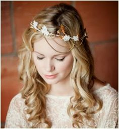 2015 Spring – Summer Wedding Hairstyles 3 - Dipped In Lace