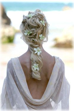 Remarkable Beach Wedding Hairstyles Dipped In Lace Hairstyle Inspiration Daily Dogsangcom