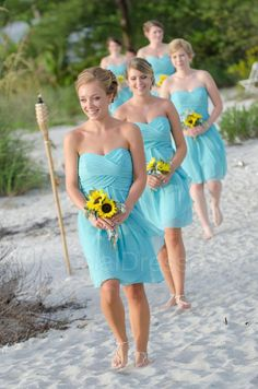 Beach Wedding Theme Ideas 12