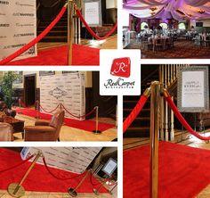 Red Carpet Wedding Theme Ideas 3