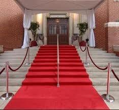 Red Carpet Wedding Theme Ideas 6