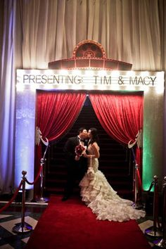 Red Carpet Wedding Theme Ideas