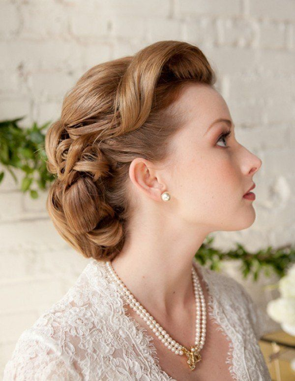 Retro Inspired Wedding Hairstyles 22