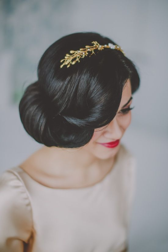 Retro Inspired Wedding Hairstyles 30