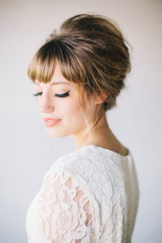 Retro Inspired Wedding Hairstyles 4
