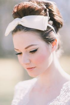 Retro Inspired Wedding Hairstyles 7