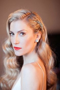 Retro Inspired Wedding Hairstyles8