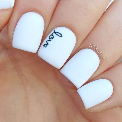 Wedding Nail Designs - Nail Art Ideas Made For the Bride 10