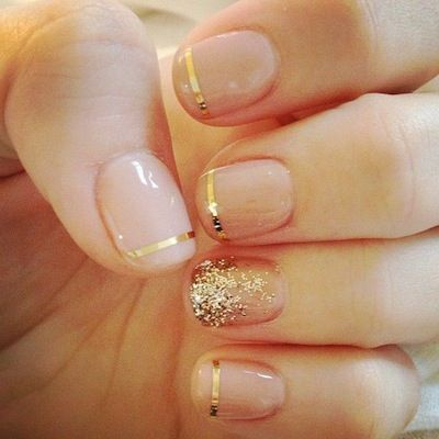 Wedding Nail Designs - Nail Art Ideas Made For the Bride 11