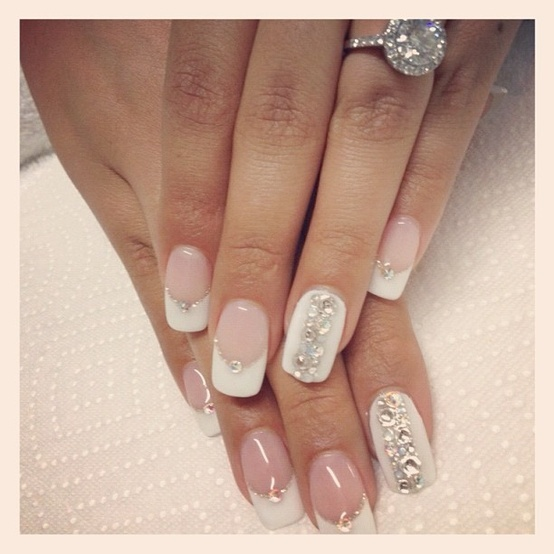 Nails For Wedding: Nail Art Ideas Made For The Bride