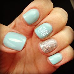 Wedding Nail Designs - Nail Art Ideas Made For the Bride 19