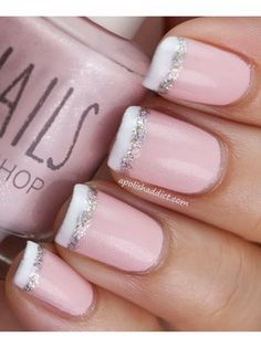 Wedding Nail Designs - Nail Art Ideas Made For the Bride 20