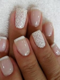 Wedding Nail Designs - Nail Art Ideas Made For the Bride 4