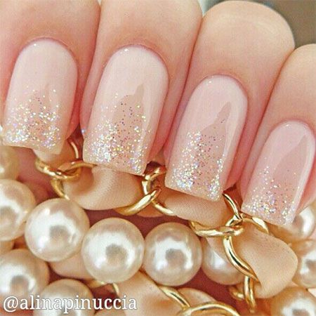 Wedding nail designs nail art ideas made for the bride dipped wedding nail designs nail art ideas made for the bride 6 prinsesfo Images
