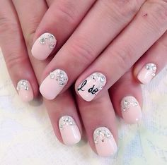 Wedding Nail Designs - Nail Art Ideas Made For the Bride 7