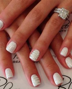 Wedding Nail Designs - Nail Art Ideas Made For the Bride