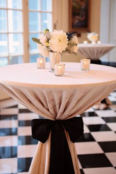 Cocktail Style Wedding Reception Ideas 11