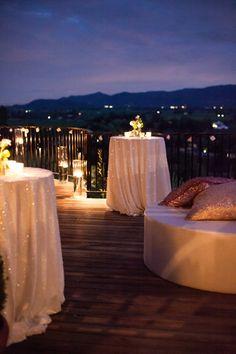 Cocktail Style Wedding Reception Ideas 3