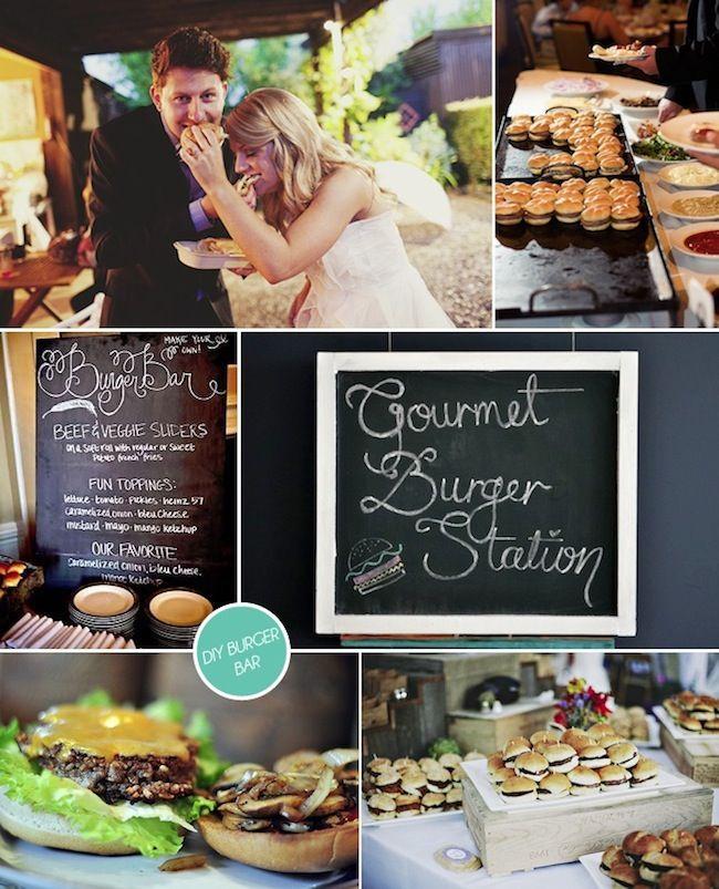 Cocktail Style Wedding Reception Ideas