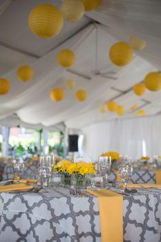 Gray & Yellow Wedding Inspiration 10