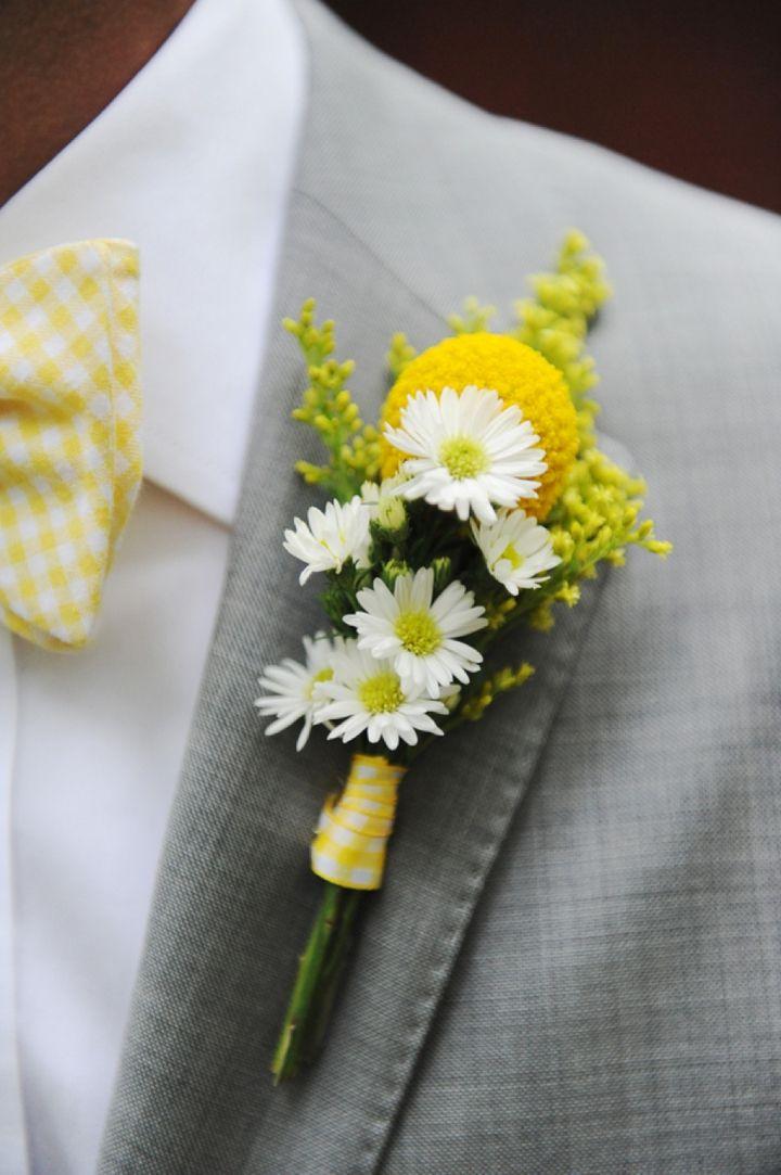 Gray & Yellow Wedding Inspiration 2