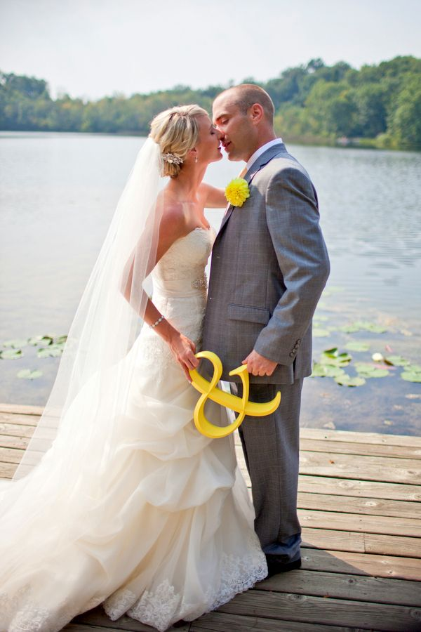 Gray & Yellow Wedding Inspiration 3